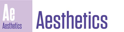 Aesthetics long icon
